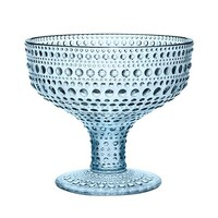 Kastehelmi Footed Bowl in Light Blue - Pop! Gift Boutique