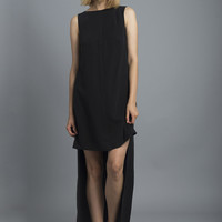High Low Tencel Dress