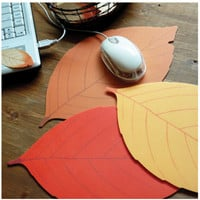 Fall Leaf Mouse Pad