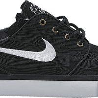 Nike SB Zoom Stefan Janoski Skate Shoes - Black/White
