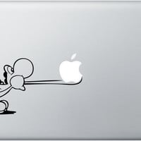 Macbook Decal Yoshi Tongue Mac Decal Macbook Pro by DecalisArt
