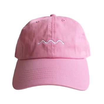 Logo Dad Hat (pink)