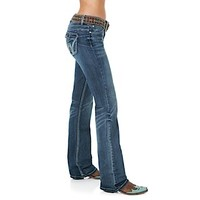 Wrangler Premium Patch® with Booty Up™ Technology - Low Rise Jean