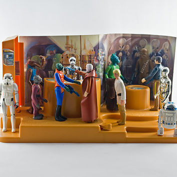 Star Wars Creature Cantina Playset, 1979 Missing Rubber Band
