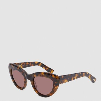 Ganni / May Shades in Tortoise
