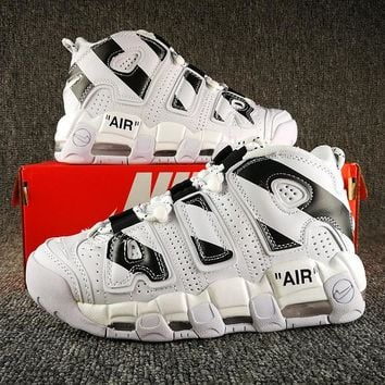 Nike Air More Uptempo Off-White Customized - Best Deal Online
