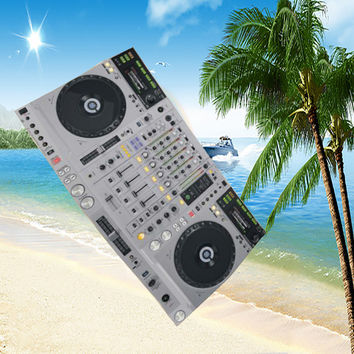 Hot Deal On Sale Bedroom Summer Hot Sale Beach Fashion Music Pattern Towel [8267847751]