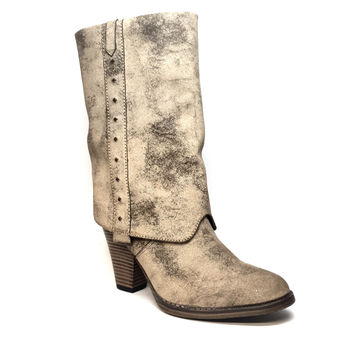 Mia Shoes 'Jeri' Distressed Boot