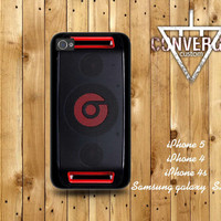 Beats dr.Dre Beatbox black Handmade Case for Iphone 4/4s,Iphone5 Case,Samsung Galaxy s2,s3