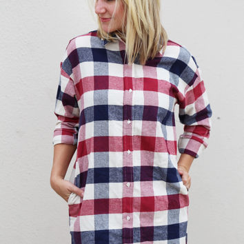 Montana's Calling Plaid Dress