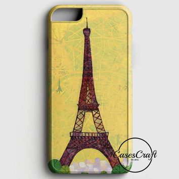 Eiffel Tower Art iPhone 6 Plus/6S Plus Case | casescraft