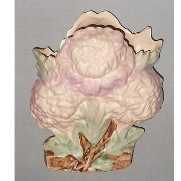 McCoy Chrysanthemum Vase, Soft Pink