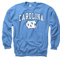 North Carolina Tar Heels Youth Carolina Blue Perennial II Crewneck Sweatshirt