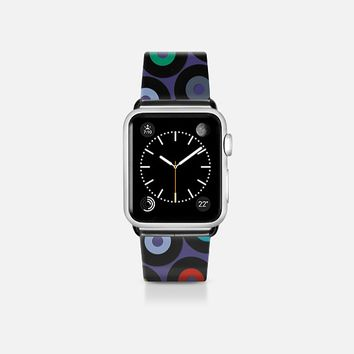 VINYL VIOLET apple watch band Apple Watch Band (38mm) by Sharon Turner | Casetify