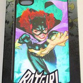 Licensed cool DC  BATGIRL BAT Holographic Hardshell Thin Case Cover FITS  iPhone 4/4S