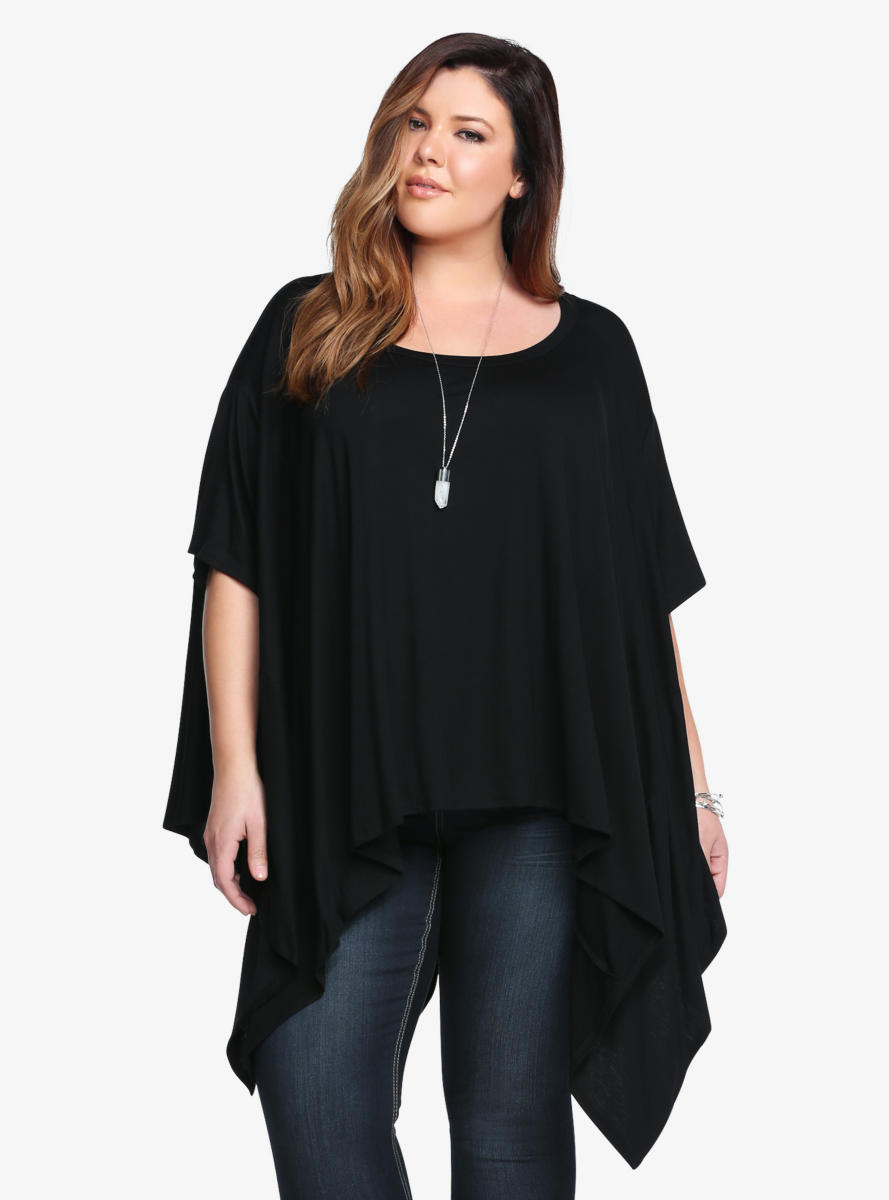 Sharkbite jersey knit top from torrid clothing