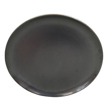 Black Heath Pottery Plate, MCM Dinner Decor, Vintage Serving Platter, Mid Century Dark Ceramics