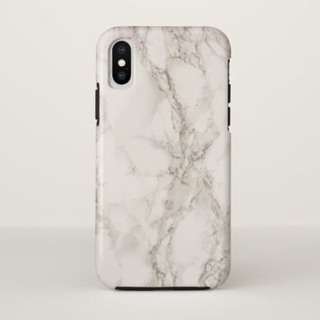 Marble Stone Case-Mate Tough iPhone X Case