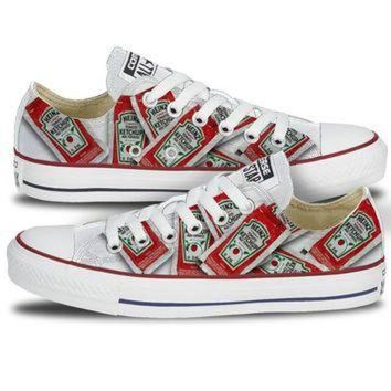 DCKL9 Youth Heinz Single Serve Ketchup Converse Low Top