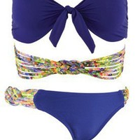 Sunkissed Bandeau Swimwear 2012 | Forget Me Knot Bottom | Bandeau Swimsuits | L*Space