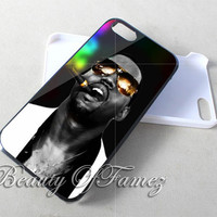 Kanye West Gold Glasses Rainbow Smoke for iPhone 4, iPhone 4s, iPhone 5, iPhone 5s, iPhone 5c Samsung Galaxy S3, Samsung Galaxy S4 Case