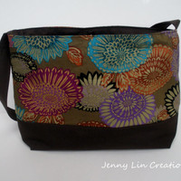 Hand made Flower Purse