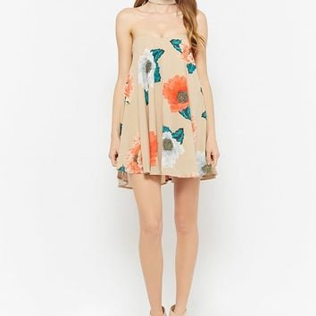 Selfie Leslie Floral Tube Dress