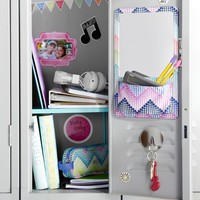 Gear-Up Dottie ZigZag Locker Mirror Pocket