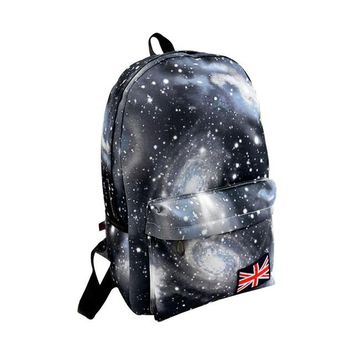 School Backpack Women backpack school bag for teenage girls backpack Stars Universe Space Printing Canvas Female Backpacks for college students AT_48_3