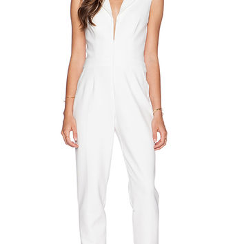 Trina Turk Emmalyn Jumpsuit in Ivory