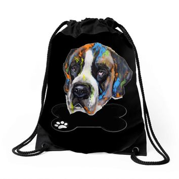 MY DOG Drawstring Bags