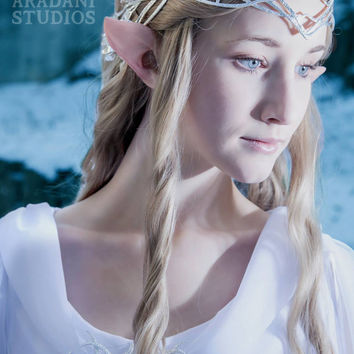 Handmade Wood Elf Ears-- latex ear tips, cosplay, costumes, Tauriel,  Zelda, Halloween, Legolas, Galadriel