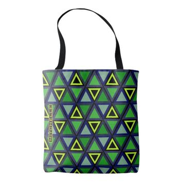 Personalized Tropicool Tote Bag