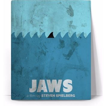 ROC Jaws Movie Poster Canvas