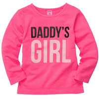 Long-Sleeve Daddy's Girl Tee