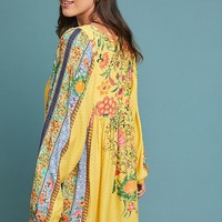 Farm Rio Lorena Patchwork Tunic Dress