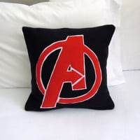 Avengers Fleece Pillow, Marvel Avengers