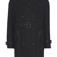 Coach - Double-breasted wool-blend trench coat
