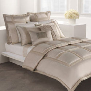 DKNY Lexington Mini Comforter Set - Taupe - Bed Bath & Beyond