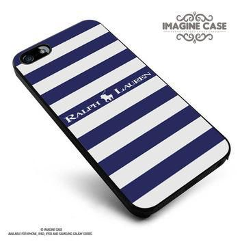 Polo Ralph Lauren Blue White Stripes case cover for iphone, ipod, ipad and galaxy seri