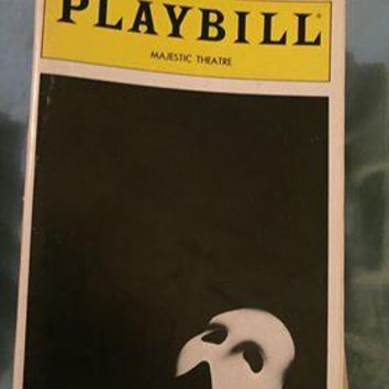 The Phantom Of The Opera Playbill