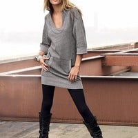 long tunic tops to wear with leggings (13)