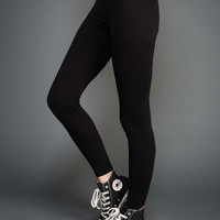 Solid Ankle Leggings | Wet Seal