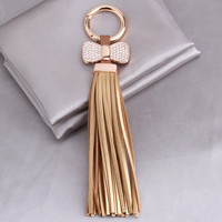 Tassels With Bow Key Chain