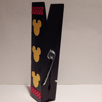 Mickey Mouse Clothespin Magnet - Fish Extender - State Room Door Decor