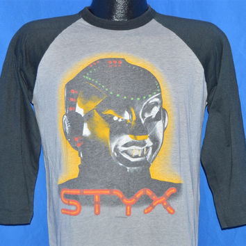 80s Styx Mr. Roboto Kilroy Was Here Tour '83 Jersey t-shirt Medium