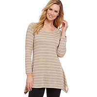 Nurture Marled Stripe Tunic - Neutral