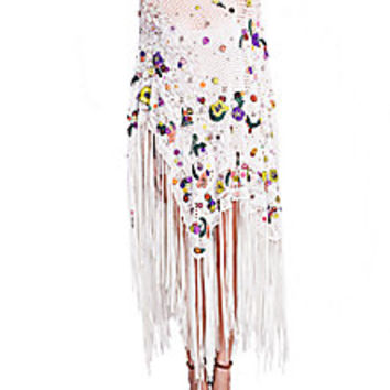 Emilio Pucci - Crochet Embroidered Poncho - Saks Fifth Avenue Mobile