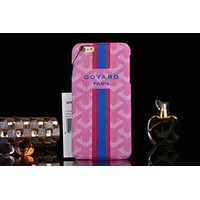 GOYARO iPhone7plus Cover 6plus Leather Case Men and women F-OF-SJK Pink