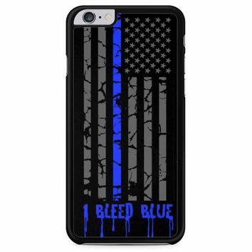 Thin Blue Line Bleed Blue iPhone 6 Plus/ 6S Plus Case
